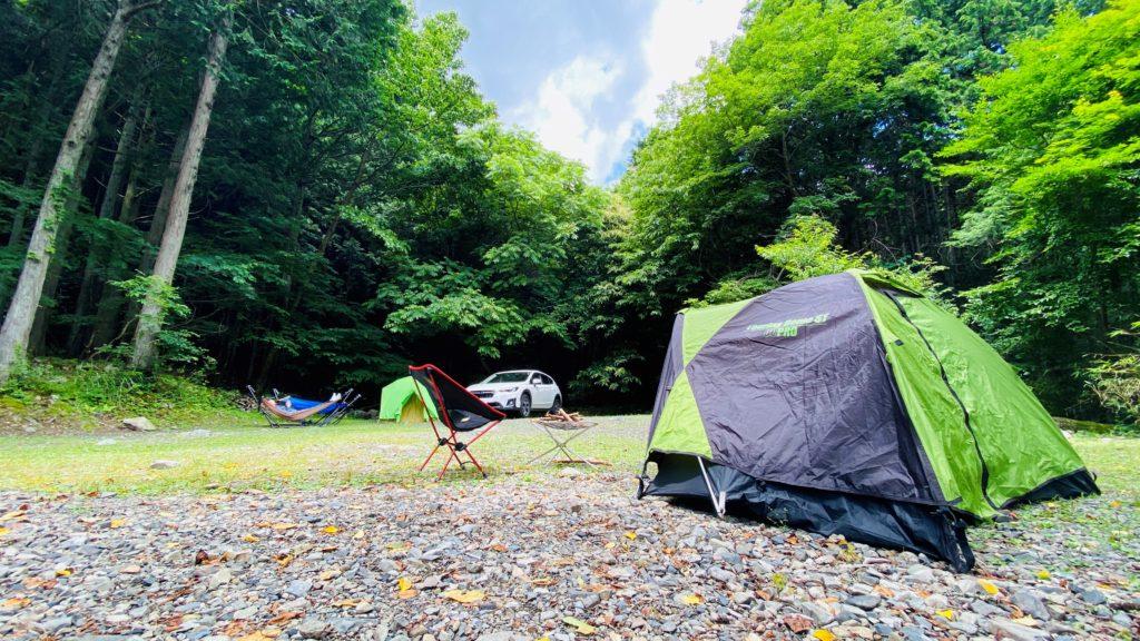 奥秋キャンプ