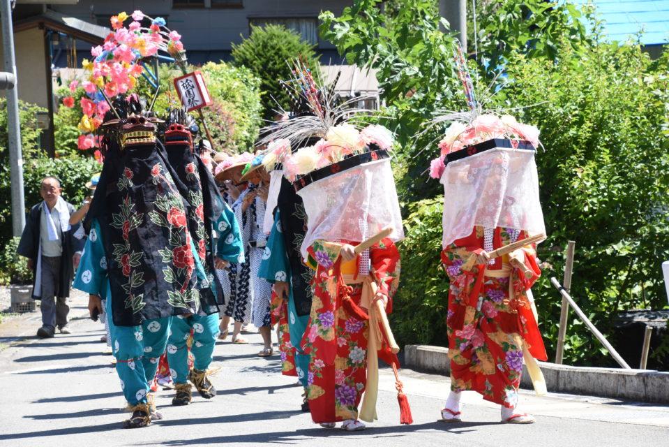 祇園祭・ささら獅子舞 7月