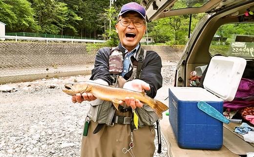 年間遊漁券(丹波川エリア)