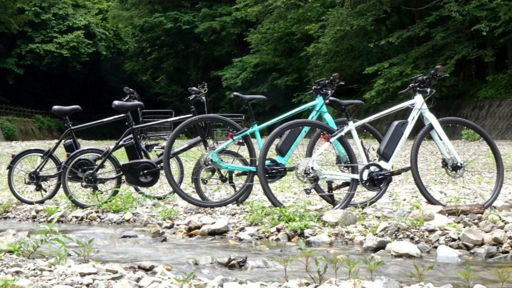 丹波山村の予約制レンタサイクル「タバサイ」