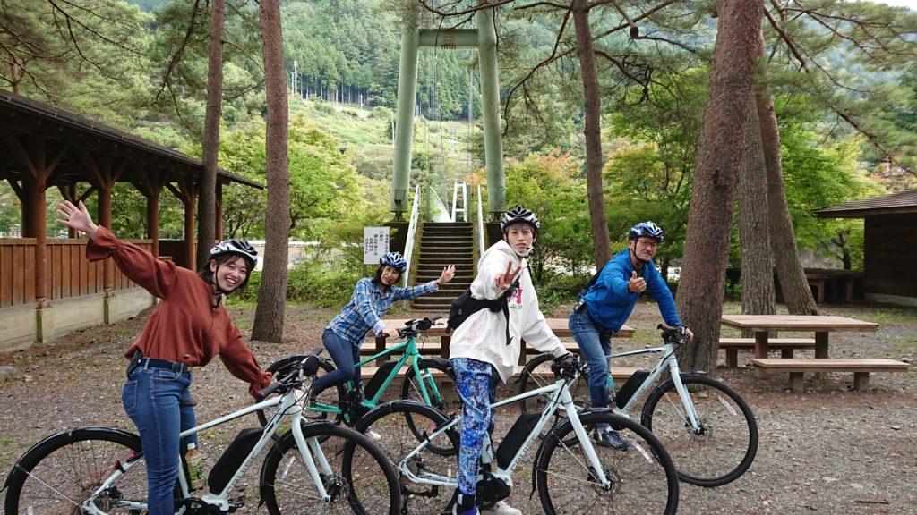 限定開催!E-BIKEでラクラク!『秋の多摩川源流サイクリングツアー』予約受付中